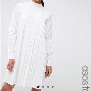 Asos Tall Pleated Dress
